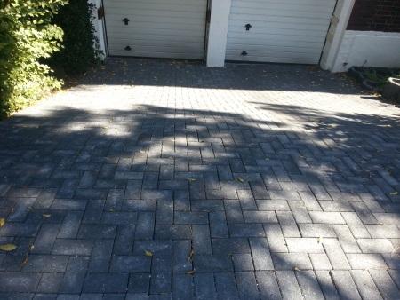 garageneinfahrt mit ko rechteckpflaster gebaut - Fantastisch Garageneinfahrt Am Hangil